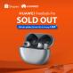 """Huawei FreeBuds Pro """"cháy đơn"""" flash sale chỉ sau 1 giờ mở bán trên Shopee"""