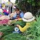 Độc đáo phiên chợ tỏi cuối năm ở Lý Sơn