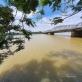 Nước Sông Hương chuyển màu vàng đục khác thường