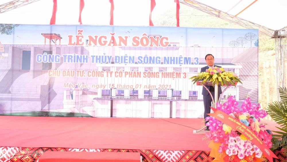 Ông Nguyễn Cao Cường - Chủ tịch UBND huyện Mèo Vạc, Hà Giang