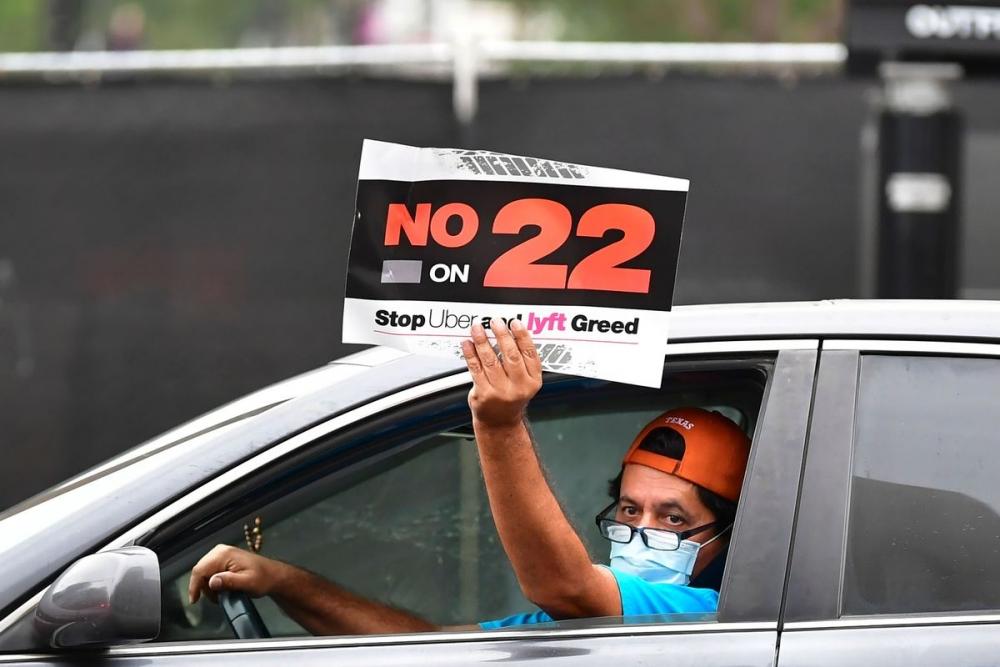 Áp dụng điều khoản Proposition 22 được xem là không đảm bảo các quyền lợi của người lao động được quy định trong luật của bang California