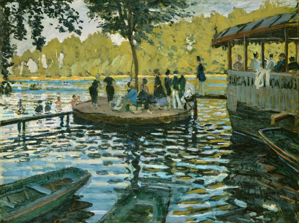 Tác phẩm của Monet - Một trong số hàng nghìn tác phẩm nghệ thuật đang được lưu giữ tại Viện Bảo tàng Mỹ thuật Metropolitan