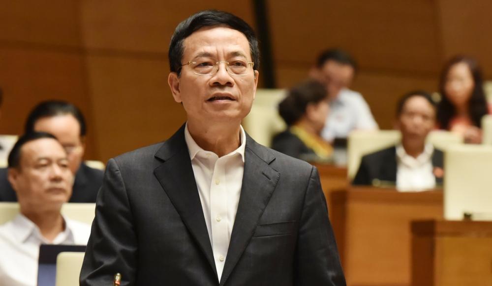Bộ Quy tắc ứng xử mạng xã hội đã được Bộ trưởng Bộ TT&TT Nguyễn Mạnh Hùng đề cập đến tại kỳ họp Quốc hội cuối năm 2020