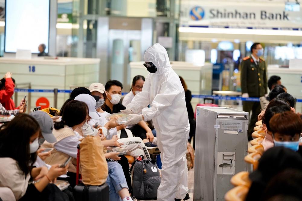 Công tác phòng, chống dịch COVID-19 tại Cảng hàng không Quốc tế Nội Bài luôn được đảm bảo ở mức cao nhất theo yêu cầu của Bộ Y tế, ICAO và cả IATA