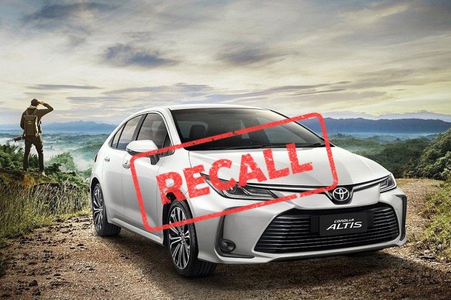 Corolla Altis bị lỗi bơm xăng do quá trình sản xuất khiến Toyota Việt Nam phải phát lệnh triệu hồi lần thứ 3 liên tiếp chỉ trong vòng 3 tháng đầu năm 2021