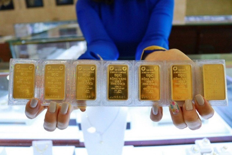 Dự báo giá vàng SJC trong nước ngày 11/9 sẽ là xu thể giảm trước biến dộng mạnh của đồng USD