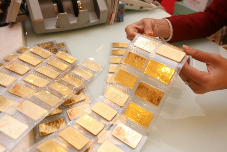 Dự báo giá vàng tuần tới sẽ tiếp đà tăng tốc được ghi nhận ở chốt phiên tuần trước
