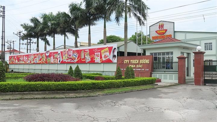 Sau Acecook Việt Nam đến lượt sản phẩm của Công ty Thực phẩm Thiên Hương có sản phẩm chứa chất cấm Ethylene Oxide bị thu hồi ở Na Uy