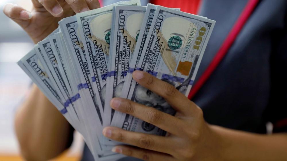 """Khi lãi suất đang ở mức thấp nhất 0% sẽ khiến các chuyên gia lo ngại về gói kích thích tài chính có thể khiến lạm phát ở """"xứ sở cờ hoa"""" tăng mạnh"""
