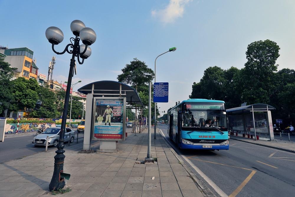 Hà Nội sẽ mở 23km đường ưu tiên cho xe buýt trong 5 năm tới