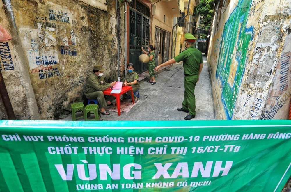 """""""Vùng xanh"""" tại Hà Nội được bảo vệ nghiêm ngặt 24/24 bởi các lực lượng liên ngành"""