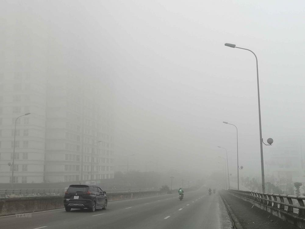 Hiện tượng sương mù ẩm có thể sẽ kéo dài trong 10 ngày đầu tháng 3