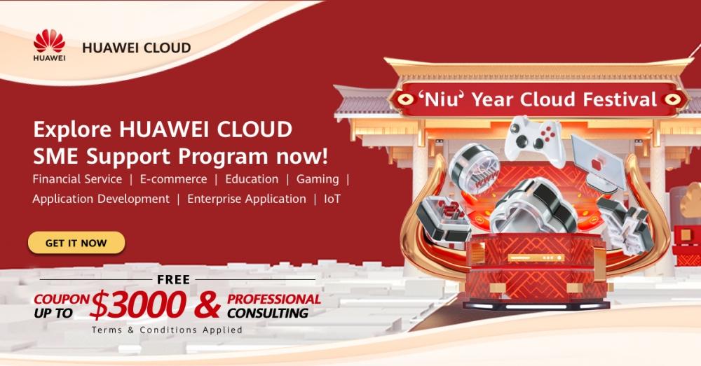 Gói hỗ trợ của Huawei được cung cấp dưới dạng phiếu thưởng có giá trị lên đến 3.000 USD cho các doanh nghiệp SME