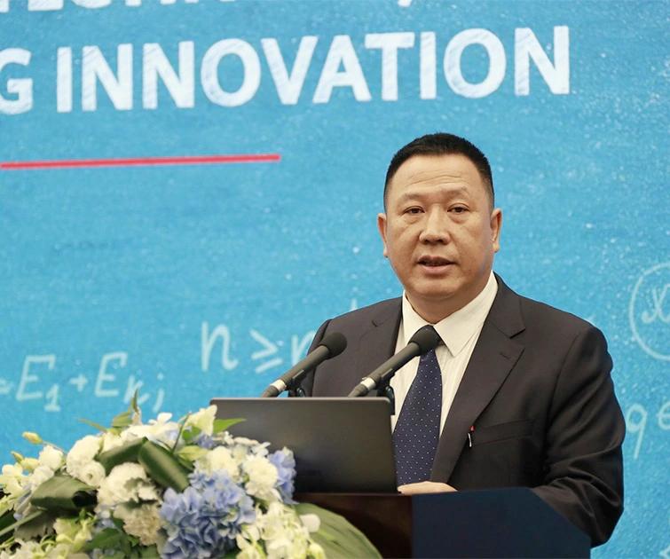 Giám đốc Pháp lý của Huawei Song Liuping tại sự kiện