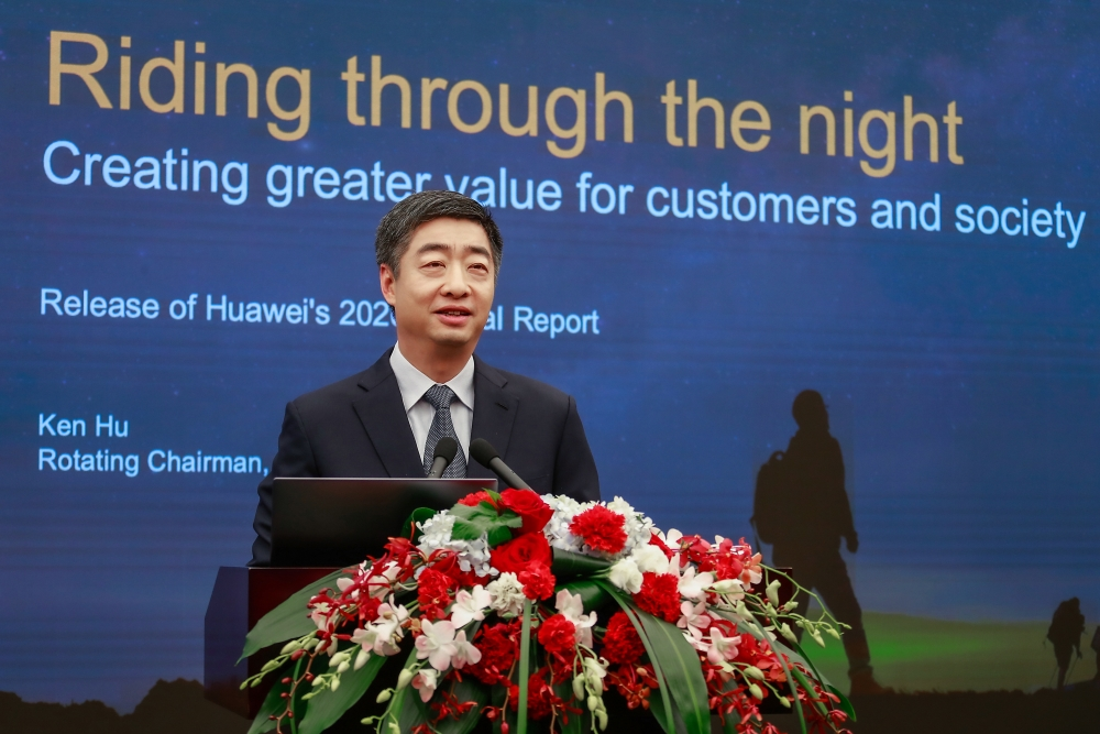 Chủ tịch luân phiên Huawei Ken Hu