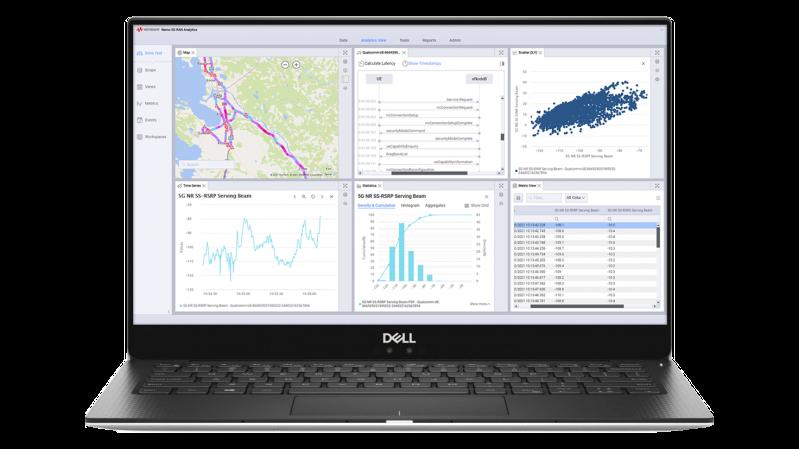 Keysight Nemo 5G RAN Analytics đáp ứng đa dạng các loại hình dịch vụ mạng 5G trong cấu trúc mạng đa dạng