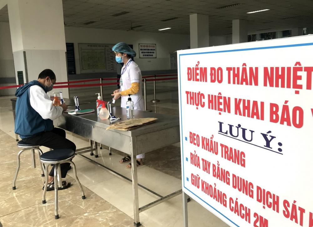 """Việc khai báo y tế thực hiện tại cơ sở y tế là phần quan trọng trong việc """"bóc tách"""" các ca F0 ra khỏi cộng đồng"""