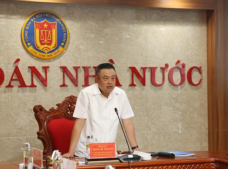 Tổng KTNN Trần Sỹ Thanh đã ban hành Quyết định thành lập Ban Chỉ đạo triển khai thí điểm kiểm toán từ xa tại Tập đoàn VNPT