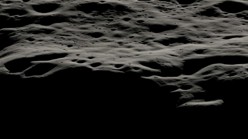 """Vị trí miệng núi lửa Nobile được các nhà khoa học NASA xác định để xe tự hành VIPER bắt đầu hành trình tìm kiếm sự tồn tại của nước trên """"nhà của Chú cuội"""""""