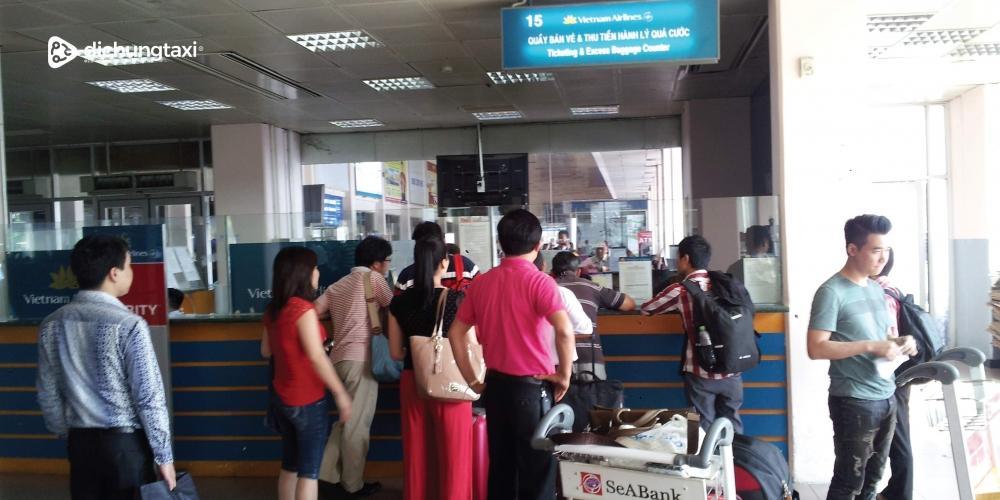 Hành khách thục hiện hành trình từ sân bay Cát Bi sẽ không còn mất thời gian cho các thủ tục check-in lên tàu bay của Vietnam Airline như trước đây