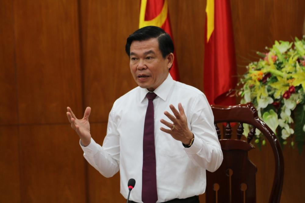 Tân Bí thư Tỉnh uỷ Đồng Nai Nguyễn Hồng Lĩnh phát biểu nhận nhiệm vụ mới