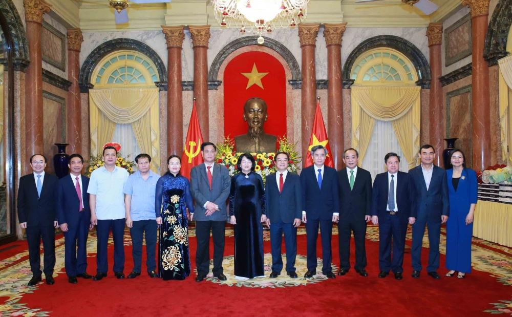 Toàn cảnh buổi lễ trao Quyết định của Chủ tịch nước