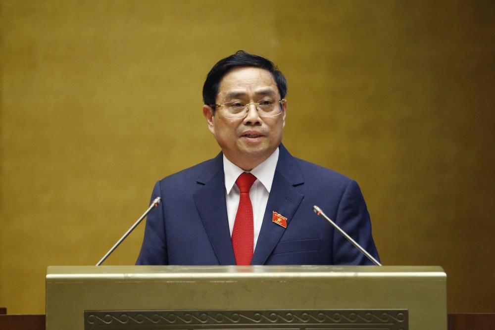 Tân Thủ tướng Phạm Minh Chính phát biểu sau lễ tuyên thệ