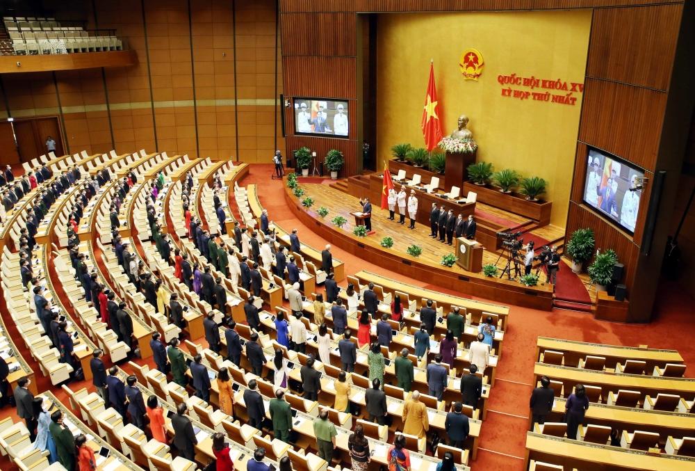 Toàn cảnh lễ nhậm chức của tân Thủ tướng Phạm Minh Chính