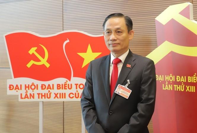 Tân Trưởng Ban Đối ngoại Trung ương Lê Hoài Trung được bầu vào Ban Chấp hành Trung ương Đảng tại Đại hội XIII