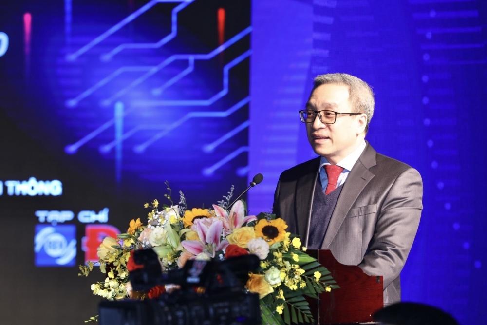 Thứ trưởng Bộ TT&TT Phan Tâm phát biểu tại REV-ECIT 2020