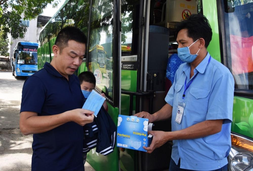Thực hiện yêu cầu 5K của Bộ Y tế trong vận tải hành khách sẽ là giải pháp tối ưu phòng chống dịch COVID-19