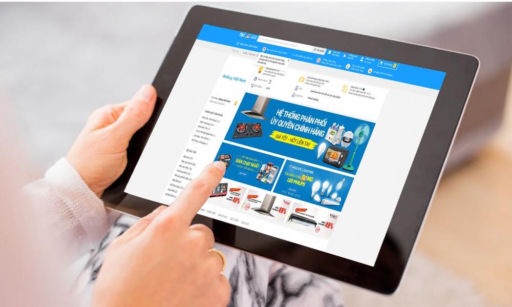 Kinh doanh online phát triển bùng nổ được xem như nhân tố quan trong để hồi phục kinh tế