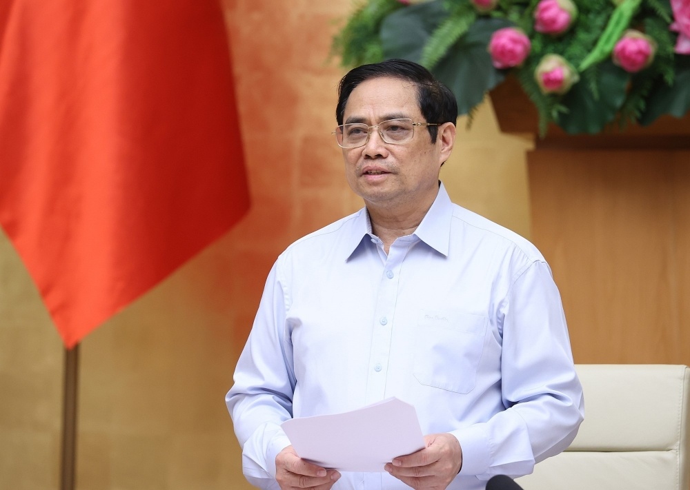 Thủ tướng Phạm Minh Chính - Chủ tịch Hội đồng Thi đua Khen thưởng Trung ương nhiệm kỳ 2021 - 2026 phát động phong trào thi đua đặc biệt