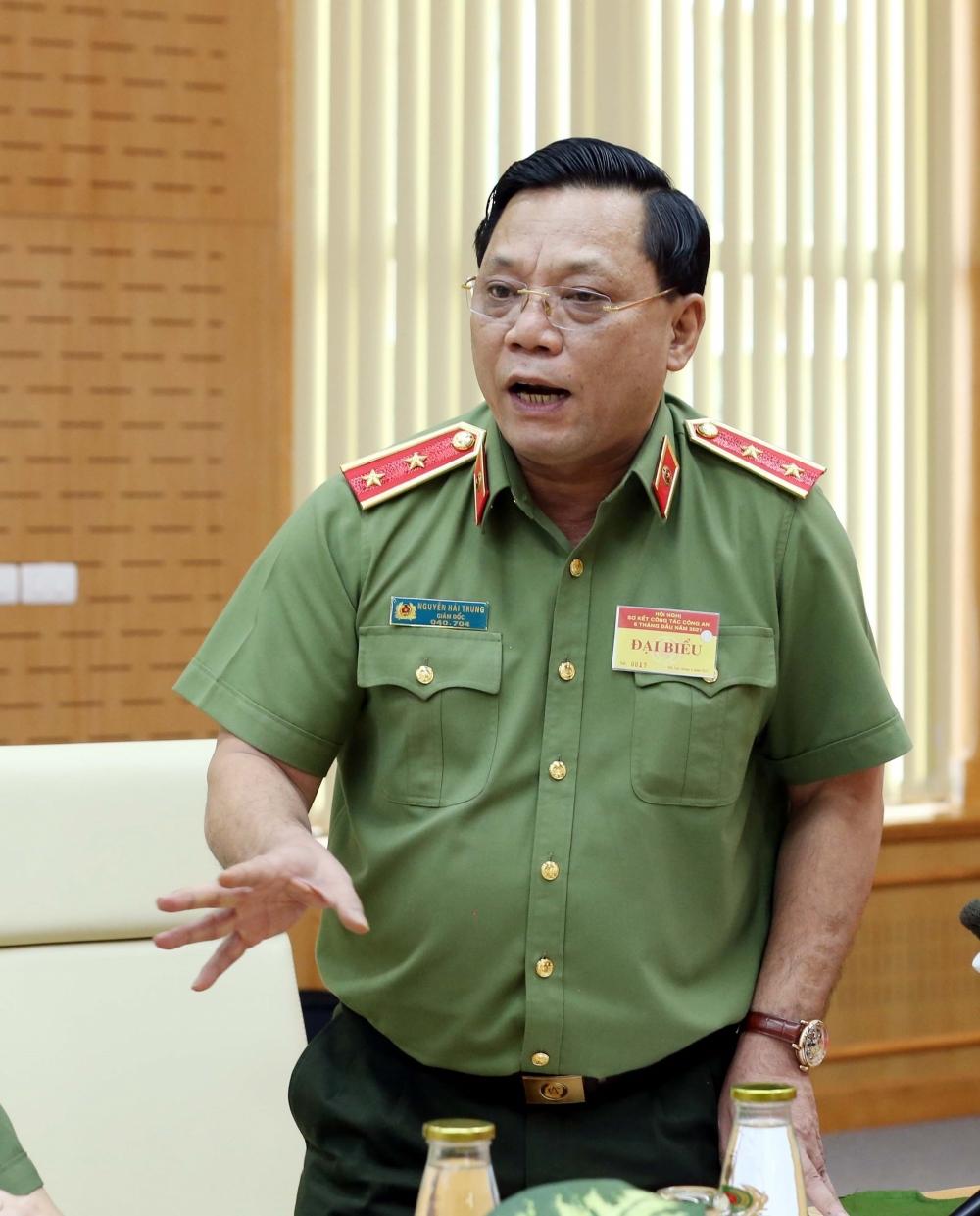 """Trung tướng Nguyễn Hải Trung thông tin về vụ việc lộ clip """"nóng"""" của diễn viên từng tham gia phim """"Về nhà đi con"""""""