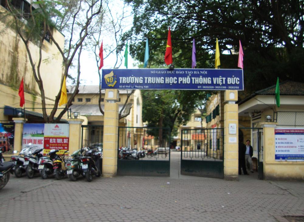 Trường THPT Việt Đức có số lượng tuyển sinh đầu vào lớp 10 cao nhất trong kỳ tuỷ sinh năm học 2021-2022