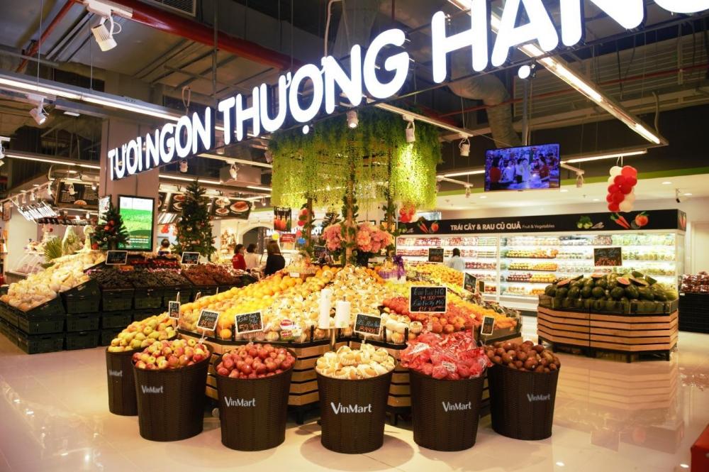 Hệ thống bán lẻ lớn nhất Việt Nam Vincommerce là mẫu hình kết hợp giữa chợ truyền thống với công nghệ hiện đại