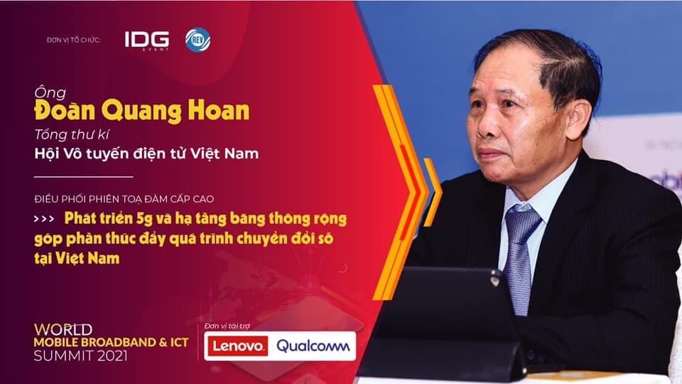 Hội thảo Băng thông rộng di động & cố định (World Mobile Broadband & ICT) năm 2021 được triển khai dưới sự điều phối của Tổng thư ký Đoàn Quang Hoan