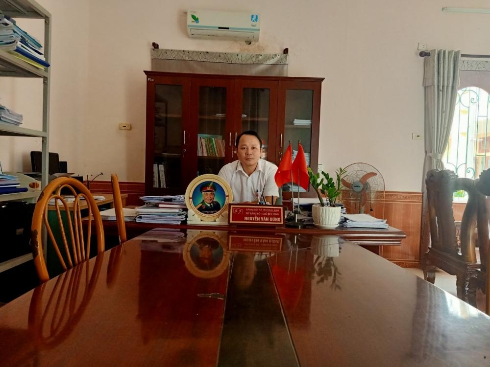 Chủ tịch UBND xã Trường Sơn Nguyễn Văn Dũng