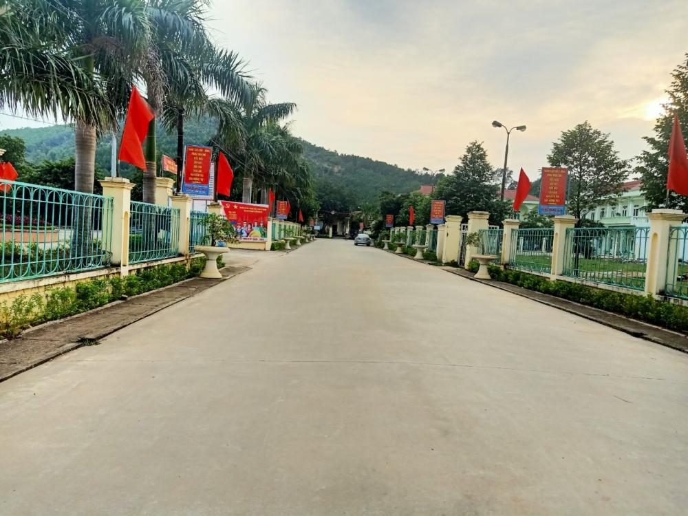 Bộ mặt giao thông nông thôn tại Trường Sơn ngày càng hoàn thiện