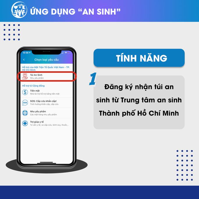 ứng dụng điện tử An sinh đã thu hút hơn 1,5 triệu lượt đăng ký
