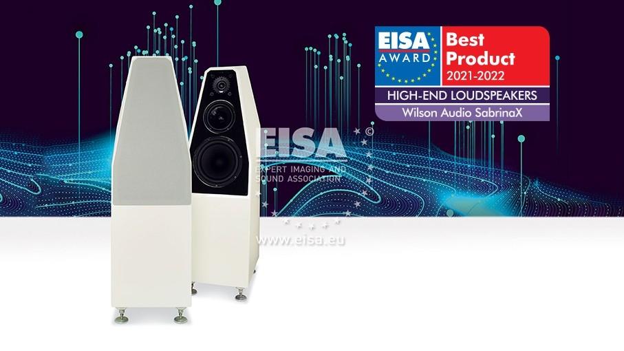 EISA Award 2021 - 2022: Wilson Audio SabrinaX