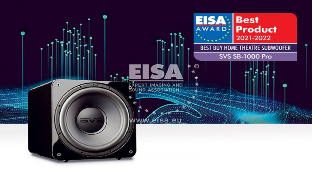 eisa award 2021 2022, SVS SB-1000 Pro