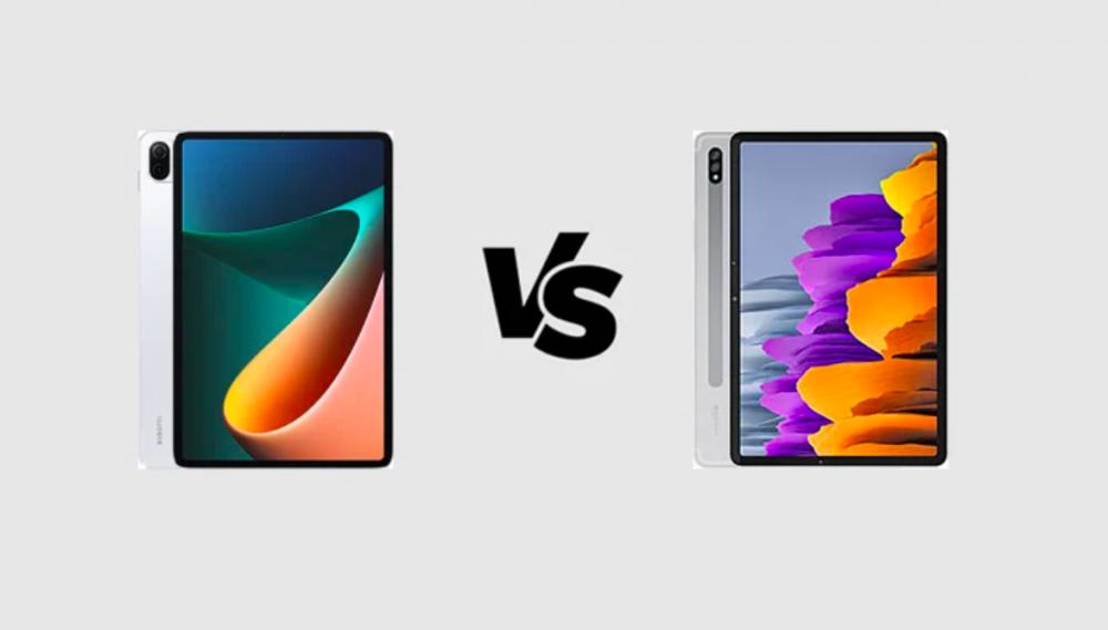 Xiaomi Mi Pad 5 Pro và Samsung Galaxy Tab S7