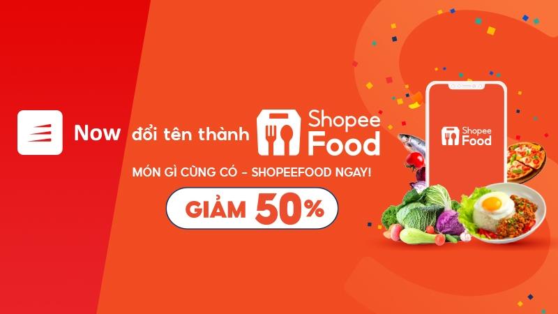 ứng dụng now, ứng dụng shopeefodd, shopee, dịch vụ giao đồ ăn nhanh