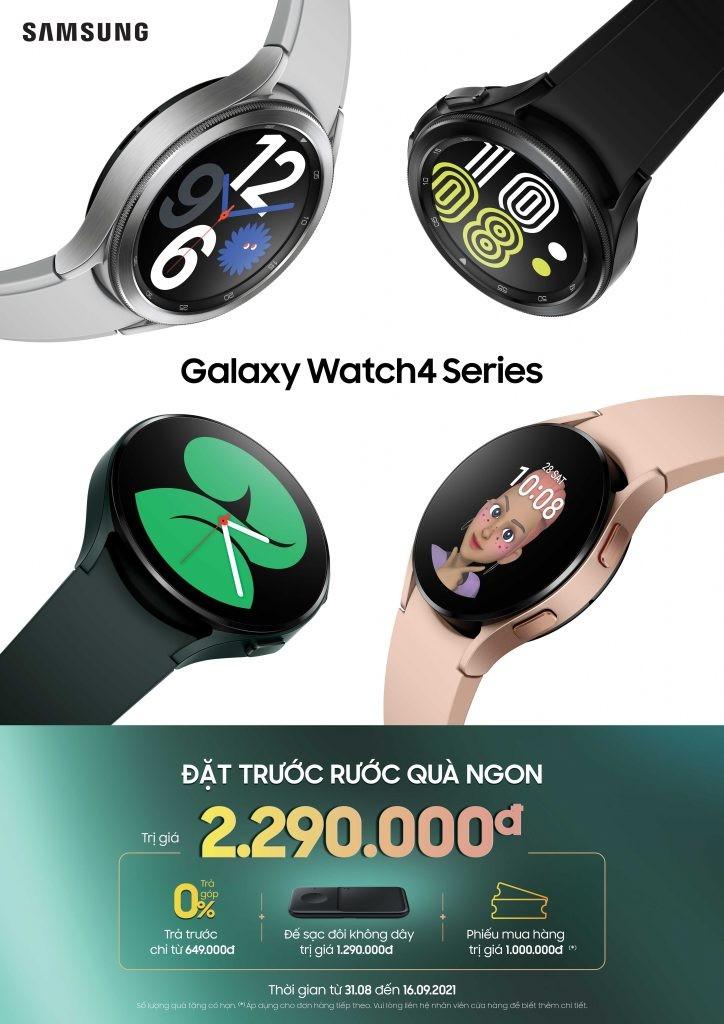 Samsung Galaxy Watch4 và Watch4 Classic