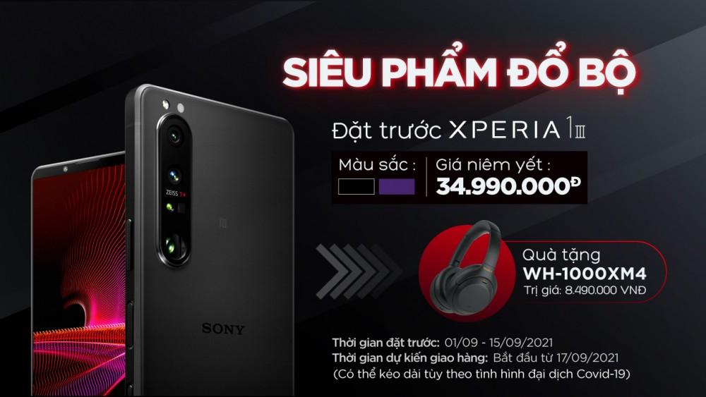 Xperia 1 III, sony Xperia 1 III, smartphone Xperia 1 III