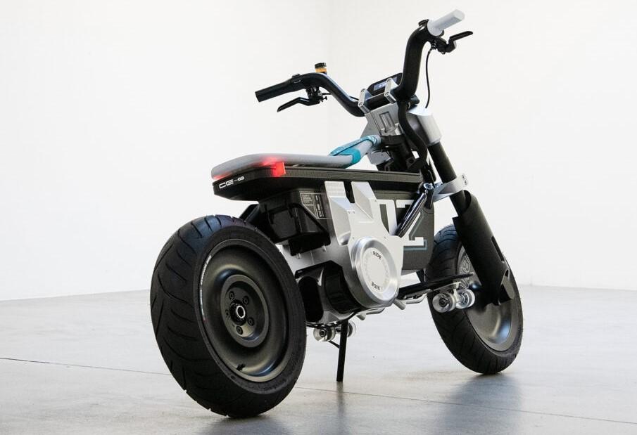 xe điện BMW mini CE 02, xe điện mini BMW, BMW CE 02, xe đạp điện, xe máy điện