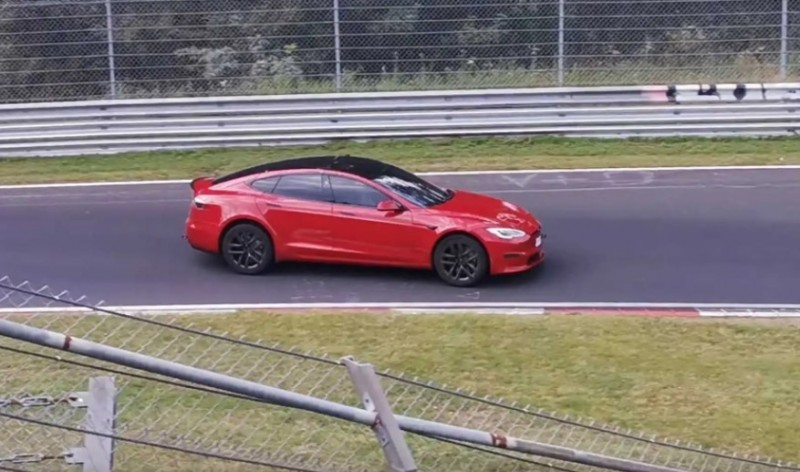 tesla model s plaid nurburgring, tesla model s plaid EV