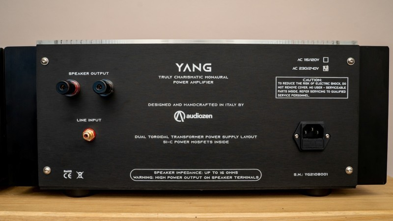 khuếch đại Audiozen Yin và Yang, Audiozen Yin và Yang