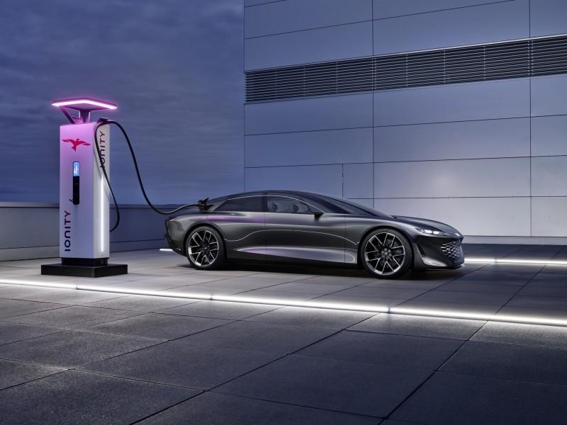 Audi Grandsphere EV xe tự lái cấp độ 4, Audi Grandsphere EV, audi A8
